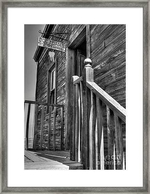Doc Adams Framed Print