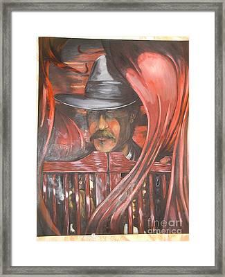 Doc The Immortal Framed Print by Ricardo Reis