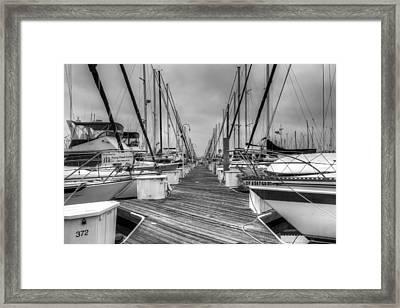 Dock Life Framed Print