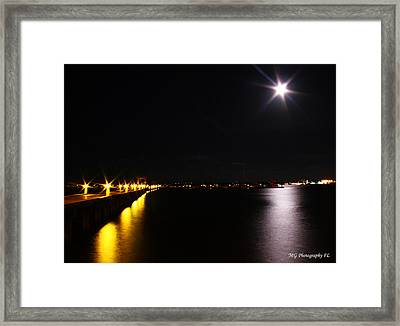 Framed Print featuring the photograph Dock Side by Marty Gayler