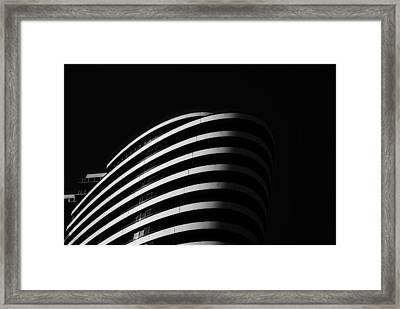 Docklands 1 Framed Print by Mihai Florea