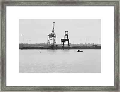 Docks Framed Print by Svetlana Sewell
