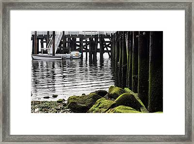 Dockside 2 Framed Print