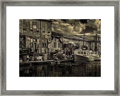 Dockside  Framed Print by Bob Orsillo
