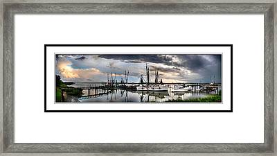 Dockside   Port Royal S C Framed Print by Gordon Fritz