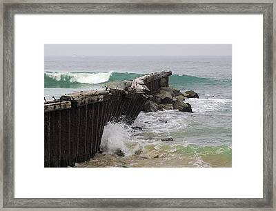 Dockweiler State Beach Framed Print by Viktor Savchenko