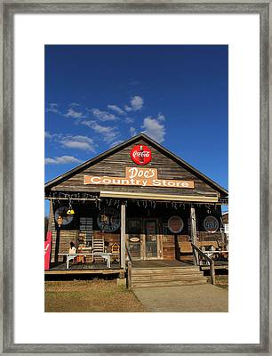 Doc's Country Store Framed Print