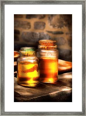 Doctor - Alchemy Made Easy  Framed Print by Mike Savad