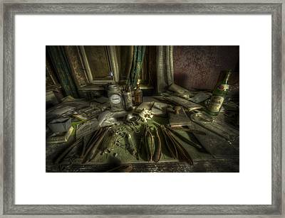 Doctor Death Framed Print