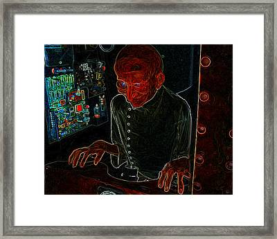 Doctor Experimental Man Ray Homage Framed Print by Brian King