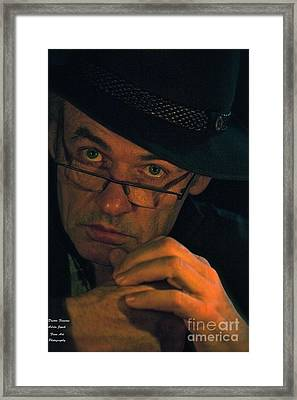 Doctor Faustus By Adel Black Jagger. Framed Print by  Andrzej Goszcz