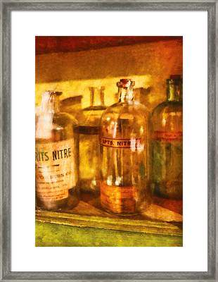 Doctor - I See Spirits Framed Print by Mike Savad