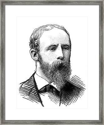 Doctor Moss Framed Print