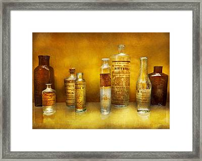 Doctor - Oil Essences Framed Print by Mike Savad