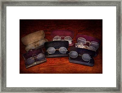 Doctor - Optometrist - Array Of Opticals Framed Print