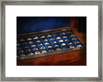 Doctor - Optometrist - I've Always Had Eyes For You Framed Print