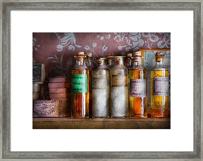 Doctor - Perfume - Soap And Cologne Framed Print