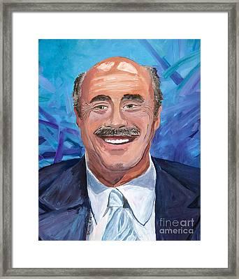 Doctor Phil Show Portrait Framed Print