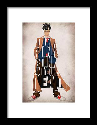 Doctor Who Framed Prints