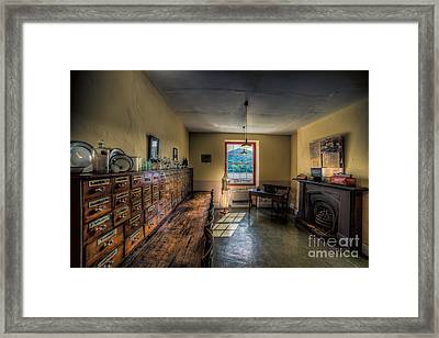 Doctors Office Framed Print by Adrian Evans