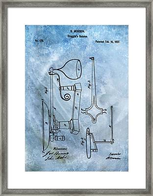Doctor's Scale Patent Framed Print