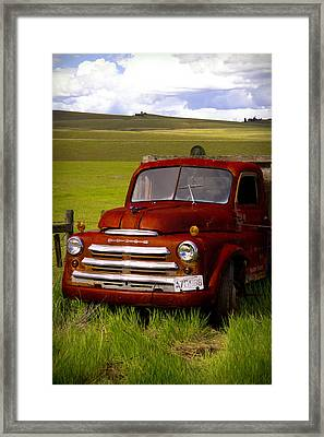 Dodge - Best Years Remembered Framed Print by Kathy Bassett