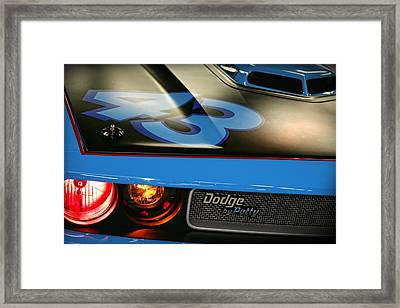 Dodge By Petty Framed Print by Gordon Dean II