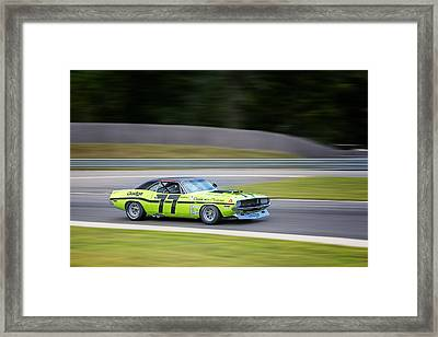 Dodge Challenger Framed Print by Bill Wakeley