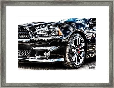 Dodge Charger Srt Framed Print by Michael White