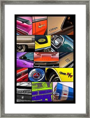 Dodge Collage No. 1 Framed Print