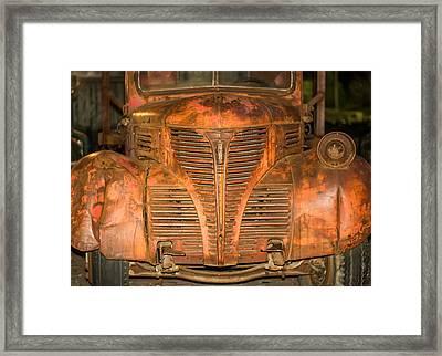Dodge Fargo Framed Print