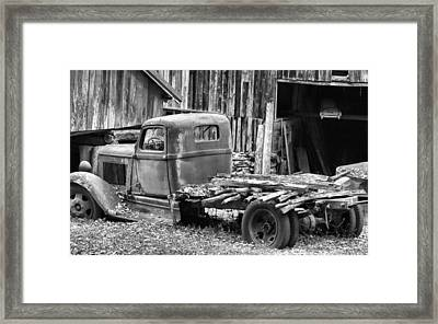 Dodge In The Country Framed Print