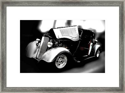 Framed Print featuring the photograph Dodge Power by Aaron Berg