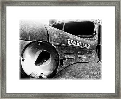 Dodge - Power Wagon 1 Framed Print by James Aiken