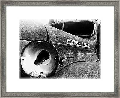Dodge - Power Wagon 1 Framed Print