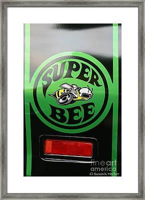Dodge Super Bee Framed Print