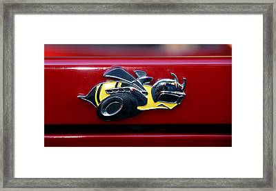 Dodge Superbee Framed Print