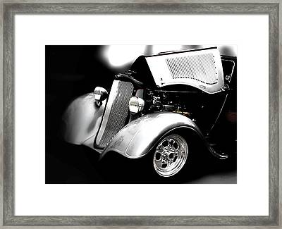 Framed Print featuring the photograph Dodge This by Aaron Berg