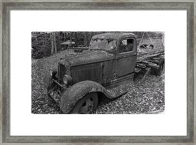 Dodge Tough Framed Print by Dan Sproul