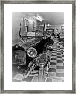Dodge Touring Framed Print