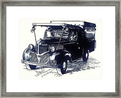 Dodge Truck Framed Print by Dale Michels