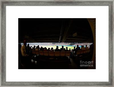 Dodgers Game In La 2 Framed Print