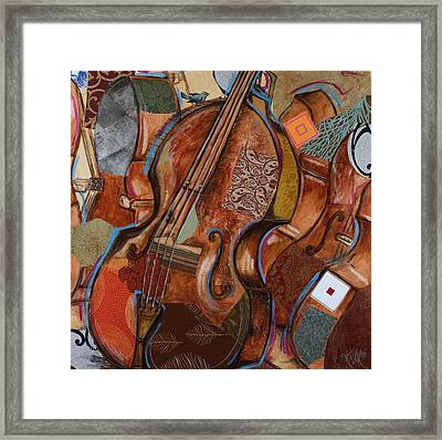 Doe The Bass Framed Print