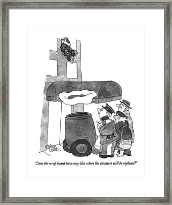 Does The Co-op Board Have Any Idea When Framed Print