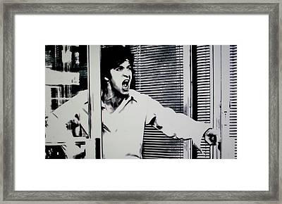 Dog Day Afternoon Framed Print by Luis Ludzska
