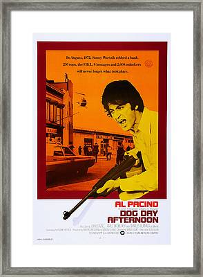 Dog Day Afternoon, Us Poster Art, Al Framed Print by Everett