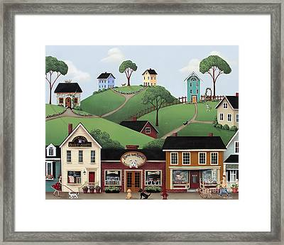 Dog Days Of Summer Framed Print by Catherine Holman