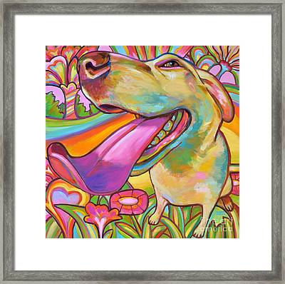 Dog Daze Of Summer Framed Print by Robert Phelps