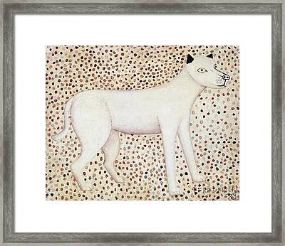 Dog Framed Print by George Fredericks