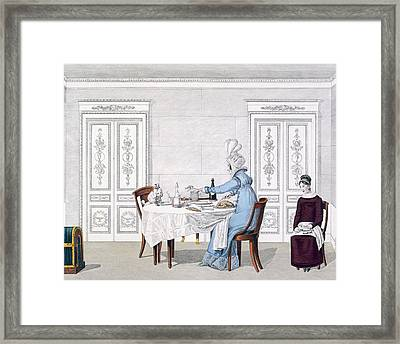 Dog Mania, Plate 106 From Le Bon Genre Framed Print